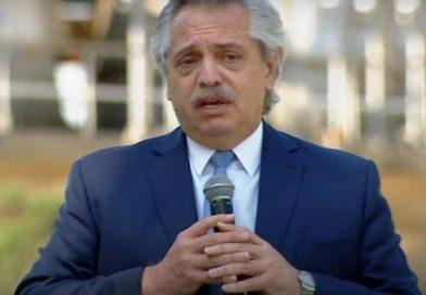 """Fuerte advertencia de Alberto Fernández a los que """"especulan"""" con materiales de construcción: """"Voy a caerles con todo el peso de la ley"""""""