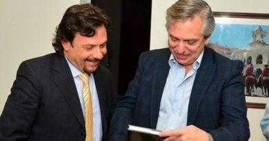 """Gustavo Sáenz: """"Le manifesté mi apoyo al Presidente desde el primer día"""""""