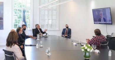 Fernández recibió a directivos de Ford, que anuncia inversiones por u$s580 millones