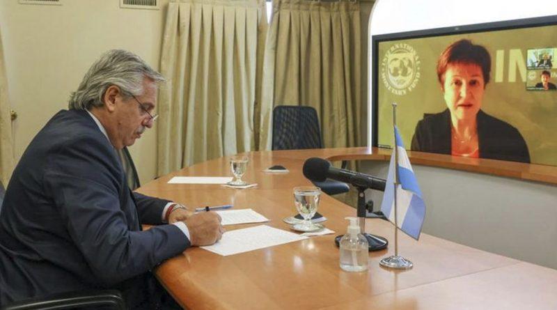 El Presidente se reunirá este viernes en Roma con la titular del FMI