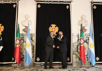 Alberto Fernández, se reúne con el primer ministro de Portugal en Lisboa