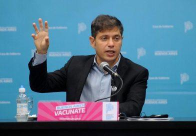 Axel Kicillof se reunirá con intendentes de la primera sección electoral
