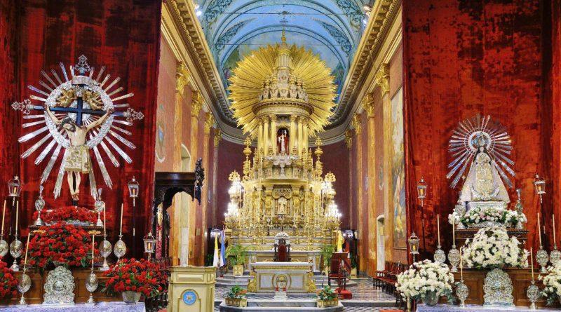 Mañana se entronizarán las imágenes del Señor y la Virgen del Milagro