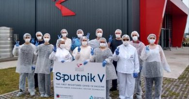 A partir del lunes iniciara en el país la producción de Sputnik V